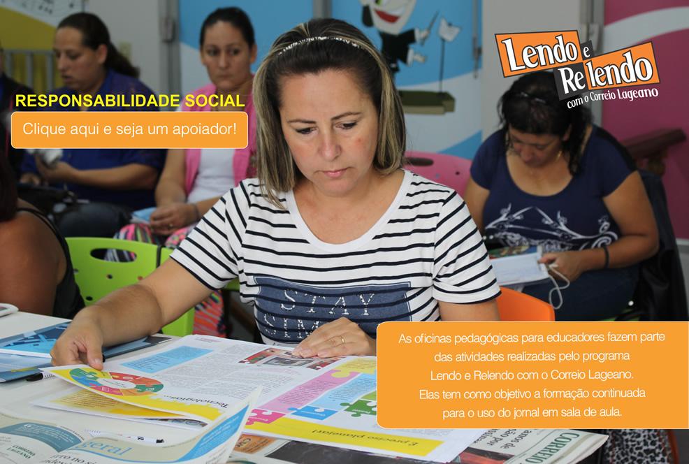 Oficina Pedagógica Programa Lendo & Relendo do Correio Lageano
