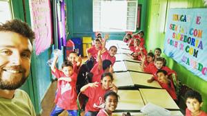O projeto acontece no Cras do município de Painel. Cerca de 60 estudantes participam das aulas com o professor Douglas Malinverni.