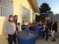 EMEB Ondina - Projeto Sustentabilidade de Captação de Água