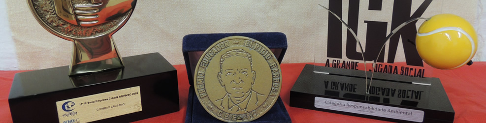 Registros e Prêmios - Instituto José Paschoal Baggio