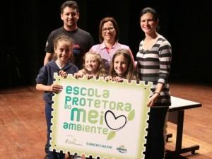 Premiação Selo e Troféu escola protetora do Meio Ambiente