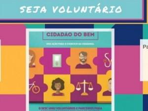 Seja Voluntário - SESC Cidadão do Bem