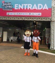 A Jornalina e o Lageaninho também estão participando do Salão do Livro.